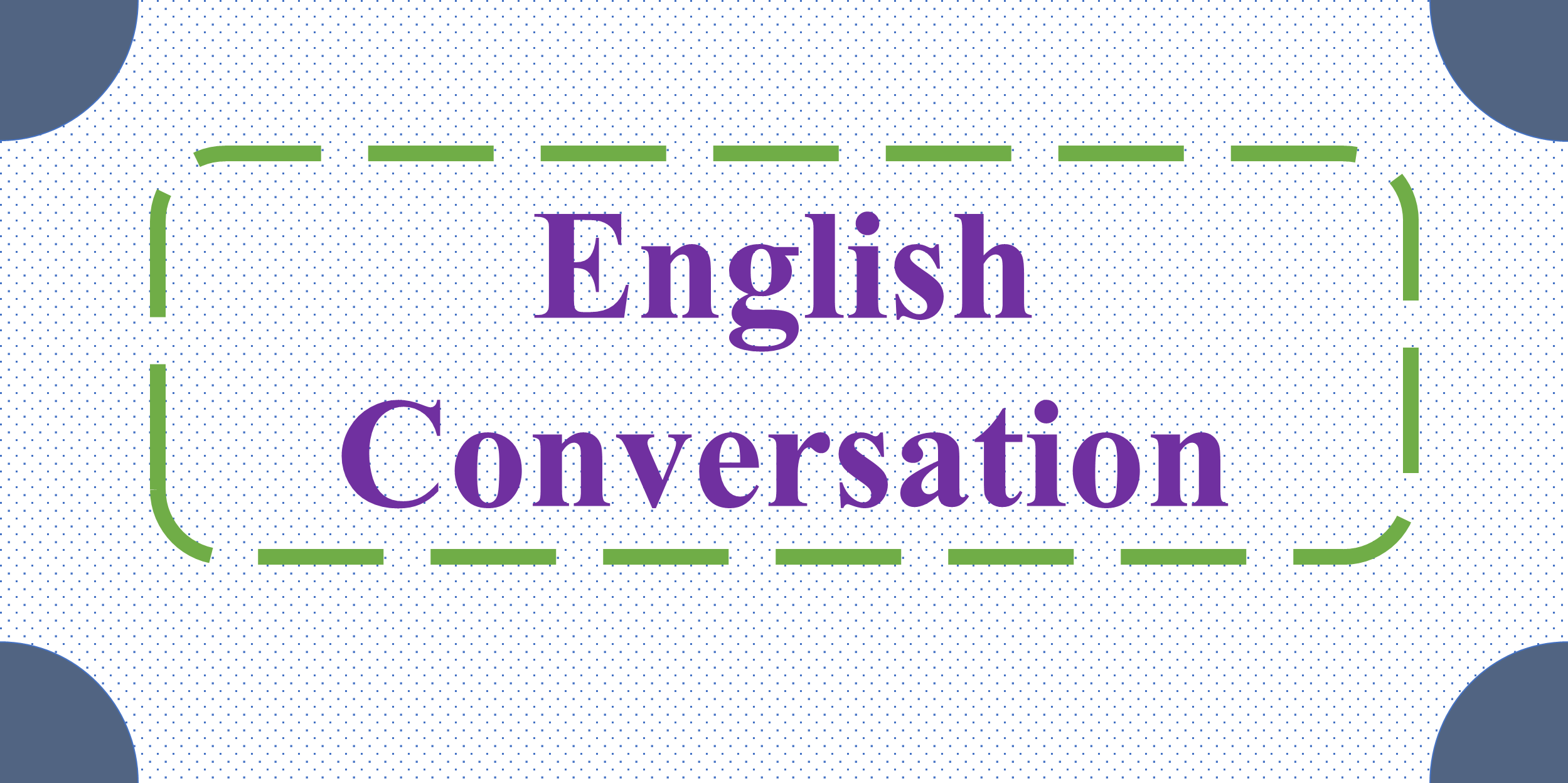 English Conversation for Beginners